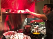 Daniel at the stove