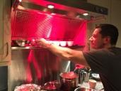 Daniel cooking