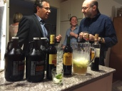 Beer, wine, caipirinha, Averna... something for everyone! The beer by the Brew Gentlemen of Braddock was courtesy of Ashley Cannon.