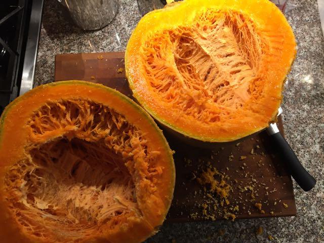 cut-pumpkin
