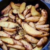 fire roasted fingerling potatoes