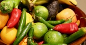 peppers and limes