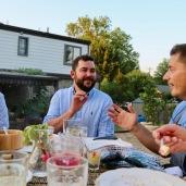 dinner conversation
