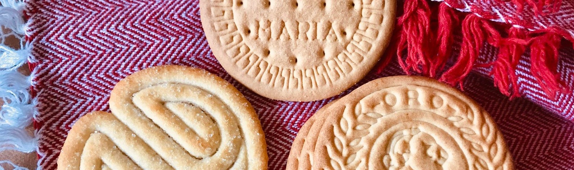 Maria cookies are common throughout the Spanish speaking world
